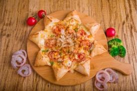 八角海鲜披萨