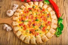 超级龙卷风披萨
